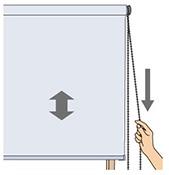 チェーン式:右側操作