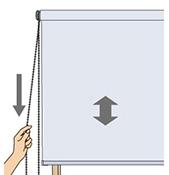 チェーン式:左側操作